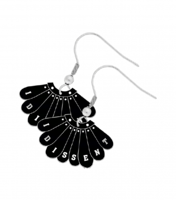Labour Womens I DISSENT Earrings