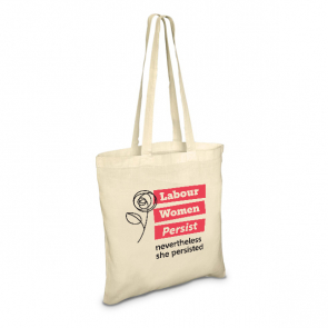 Labour Women Persist Long Handled Shopper Bag